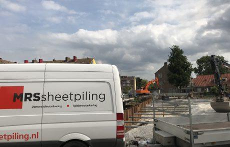 Stalen damwand aanbrengen in Amsterdam